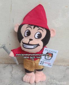 boneka maskot pilkada kabupaten maros