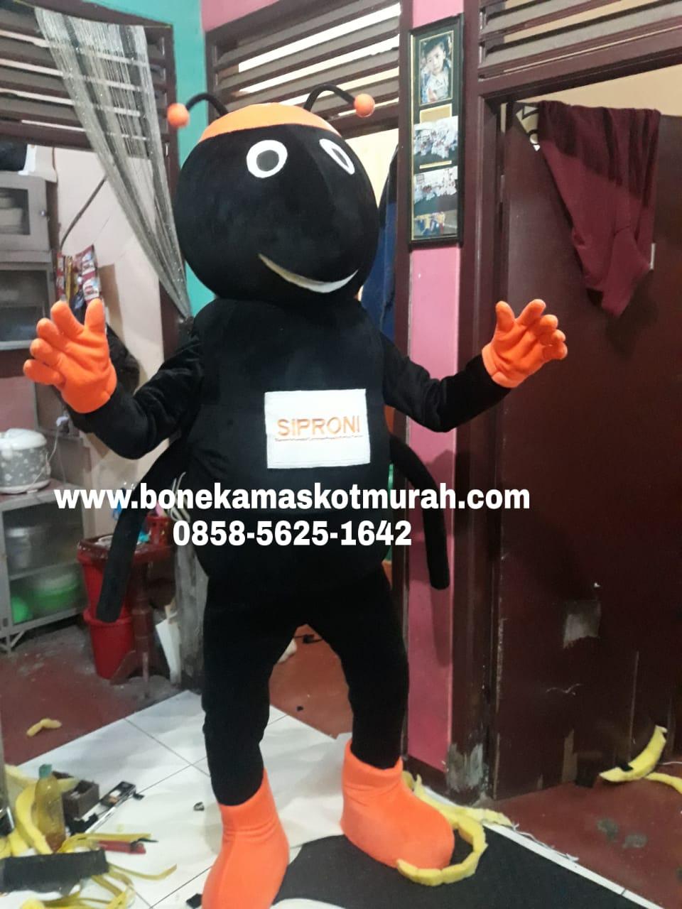 kostum maskot badut siproni