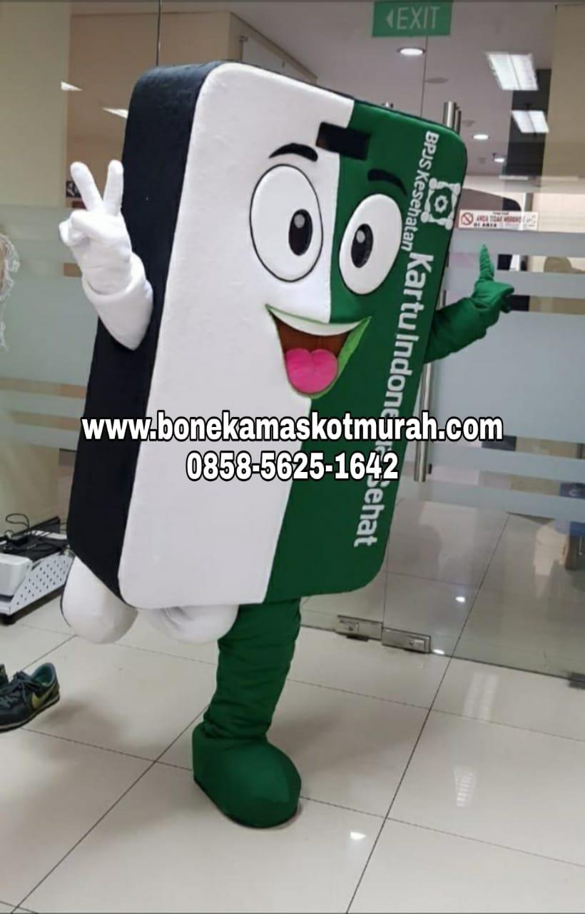 kostum maskot badut untuk BPJS
