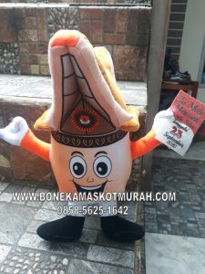boneka maskot custom pilkada toraja
